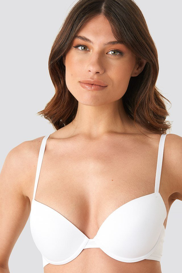 Basic Micro Cup Bra White