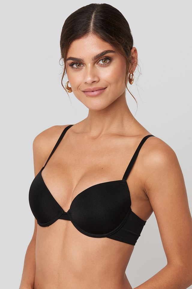 Basic Micro Cup Bra Black