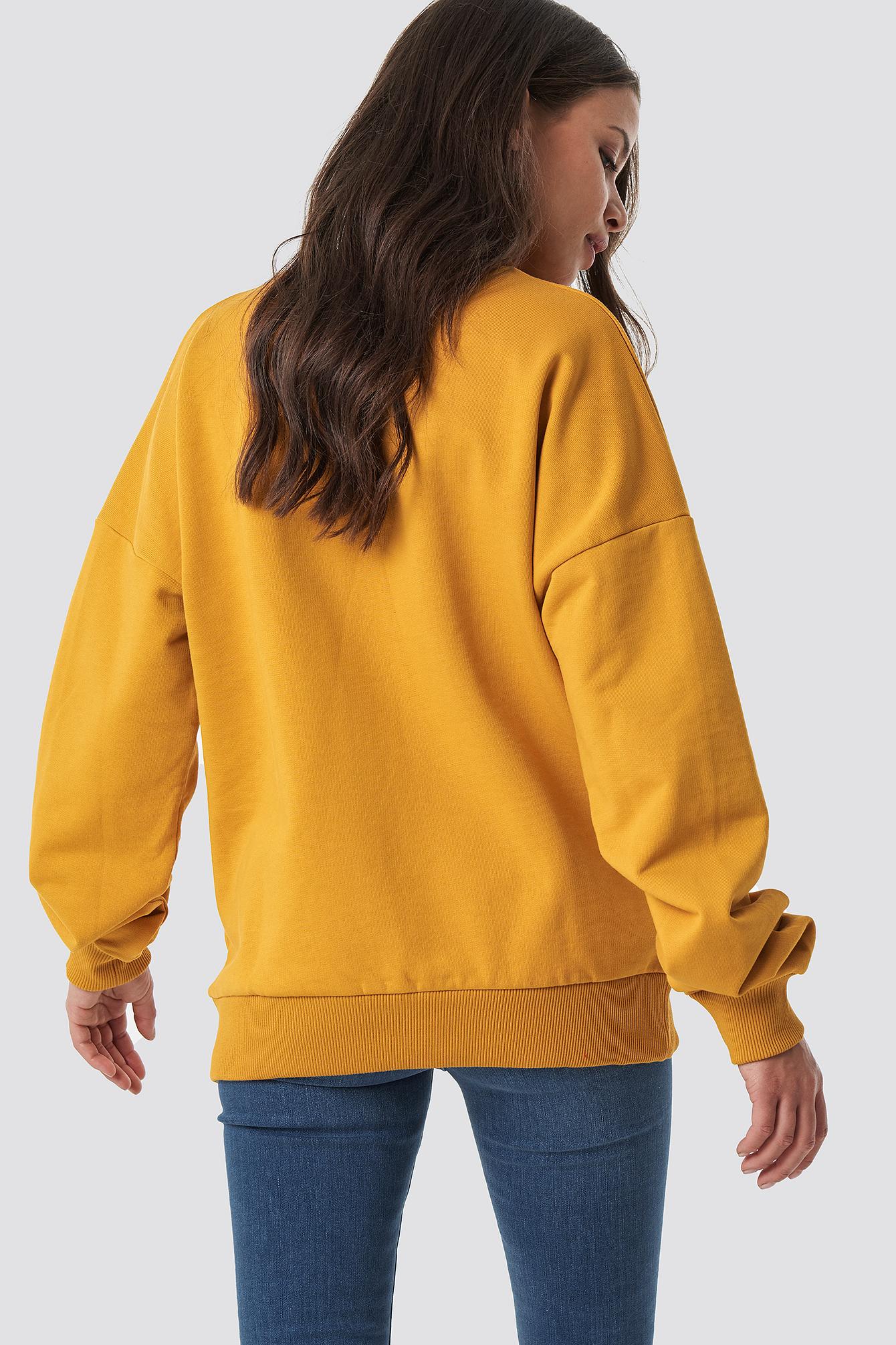 Basic Oversize Sweatshirt NA-KD.COM