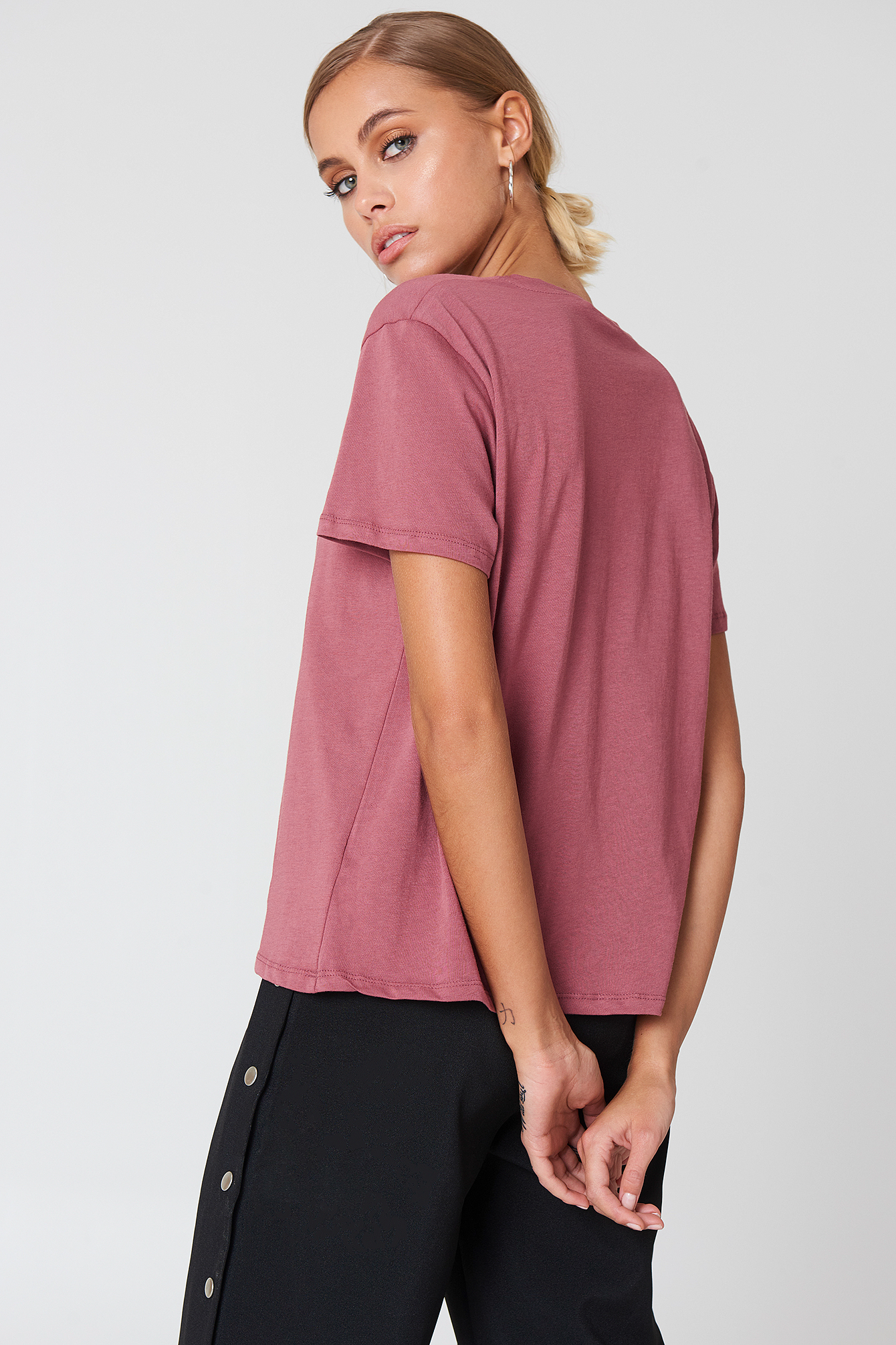 T-shirt oversize NA-KD.COM