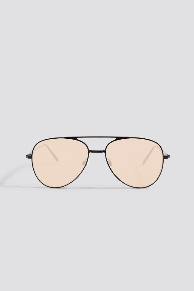 Basic Pilot Sunglasses Black