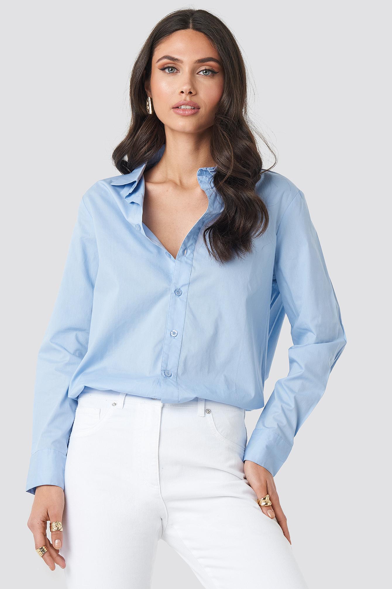 Koszula basic NA-KD.COM