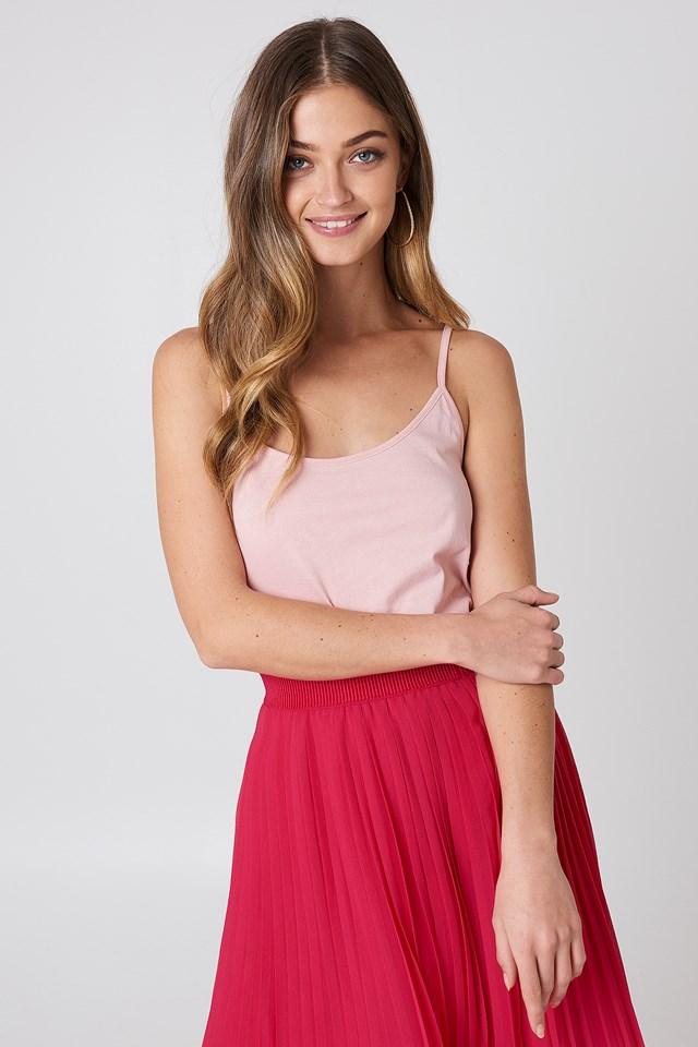 Basic Singlet Dusty Light Pink