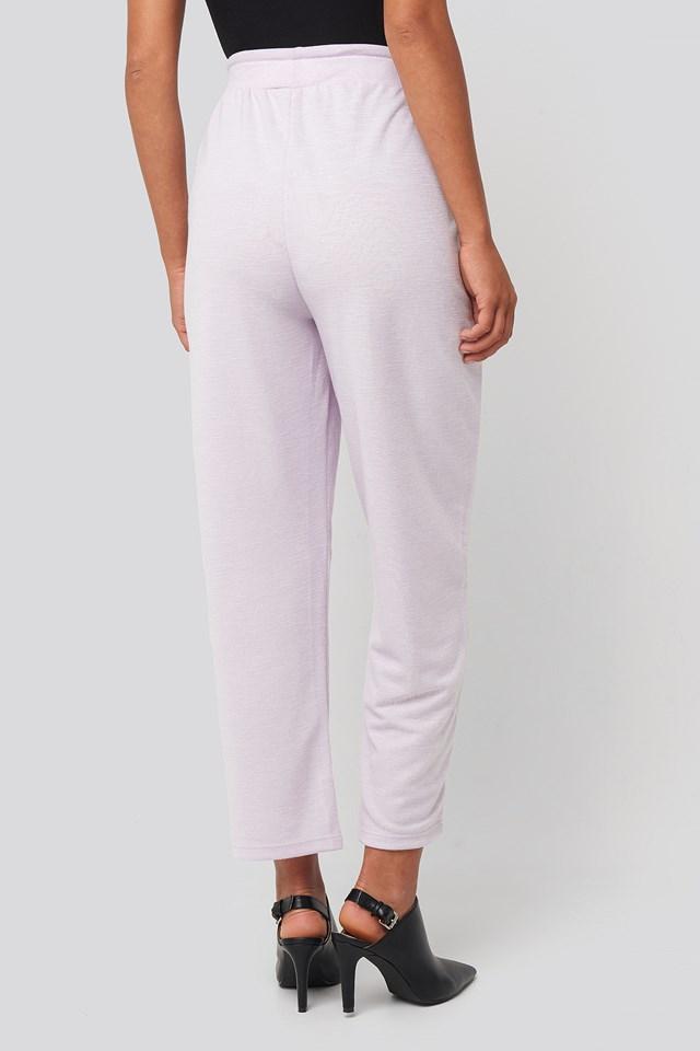Basic Slip Pants Lilac
