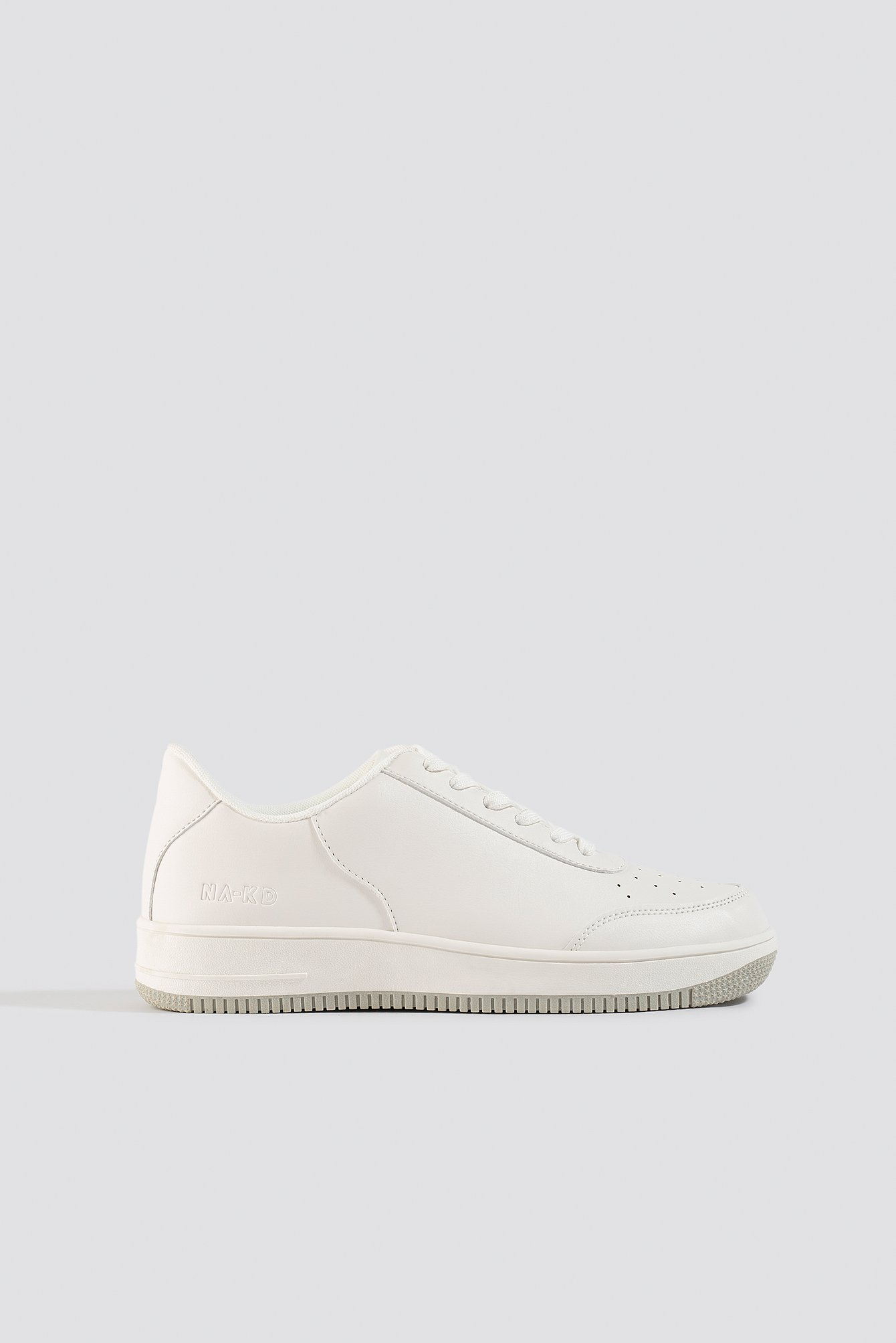 NA-KD Shoes Basic Sneakers - White