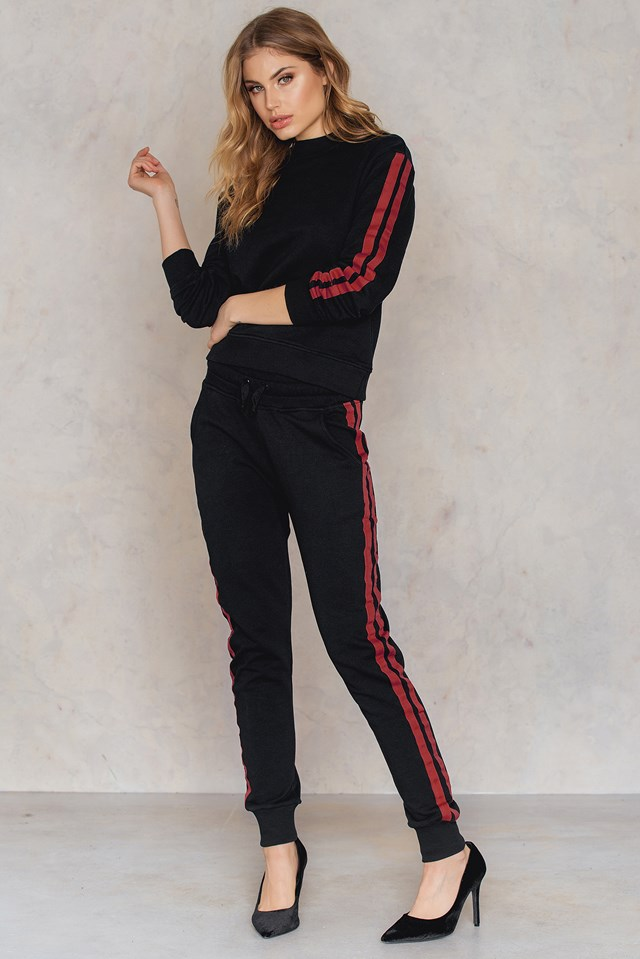 Basic Striped Sweater NA-KD.COM