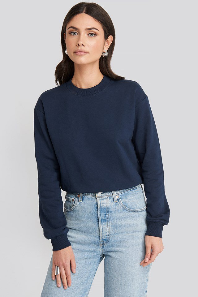 Basic Sweater Dark Navy