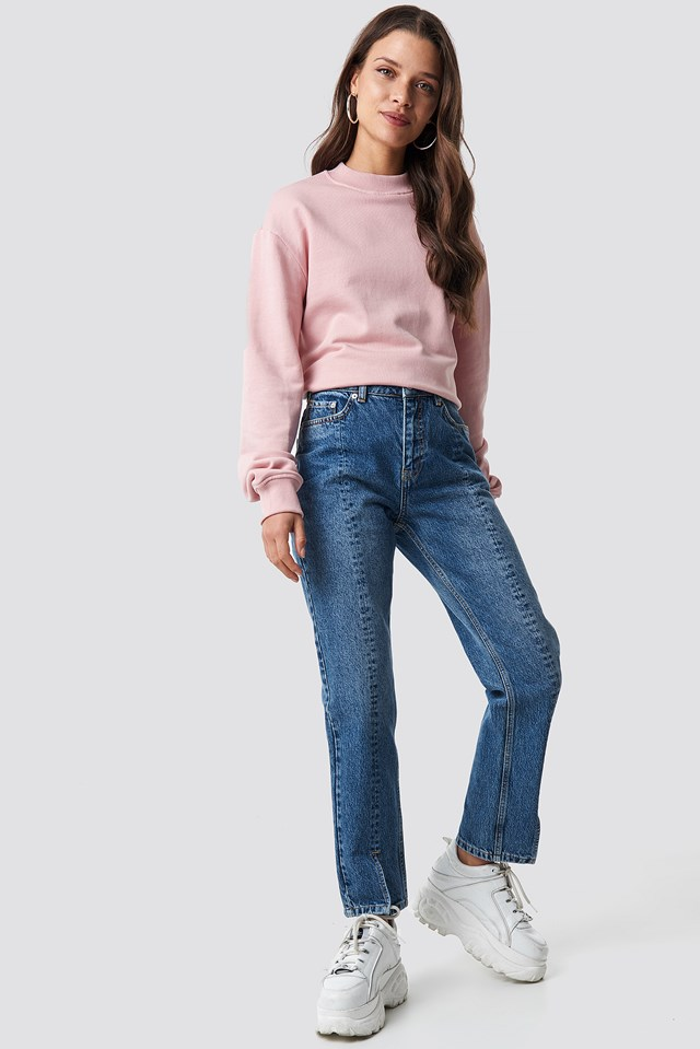 Basic Sweater Dusty Pink