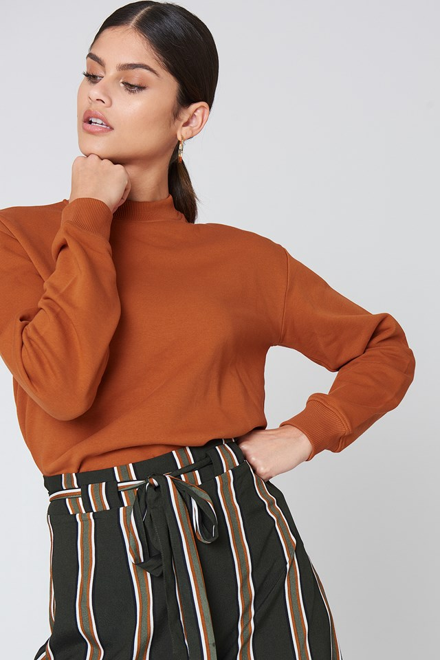 Basic Sweater Rust
