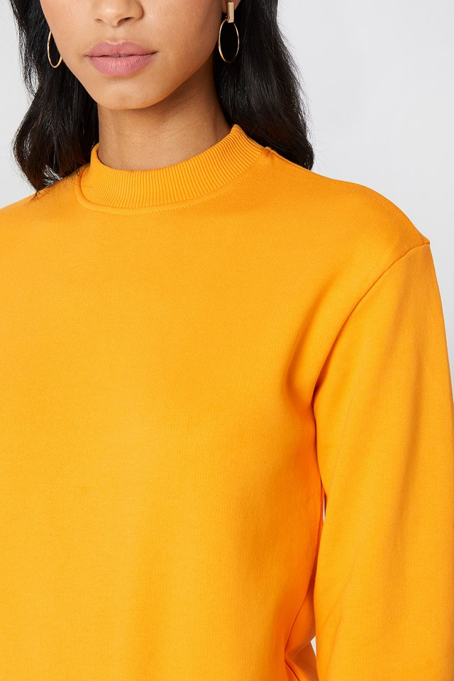 Basic Sweater Orange