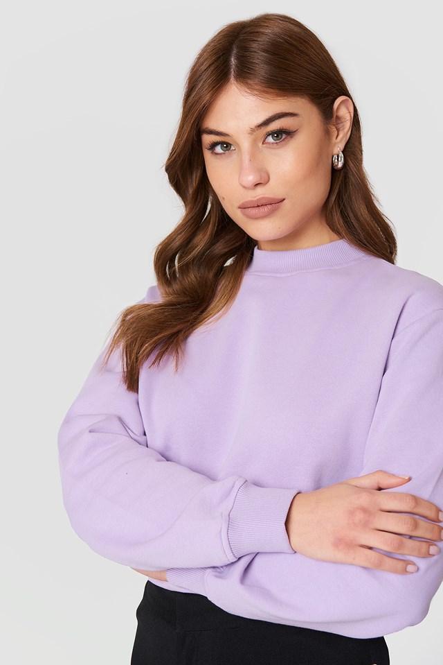 Basic Sweater Lilac
