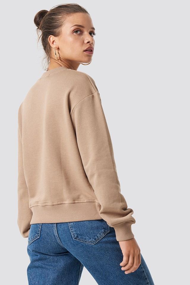 Bluza basic Mauve