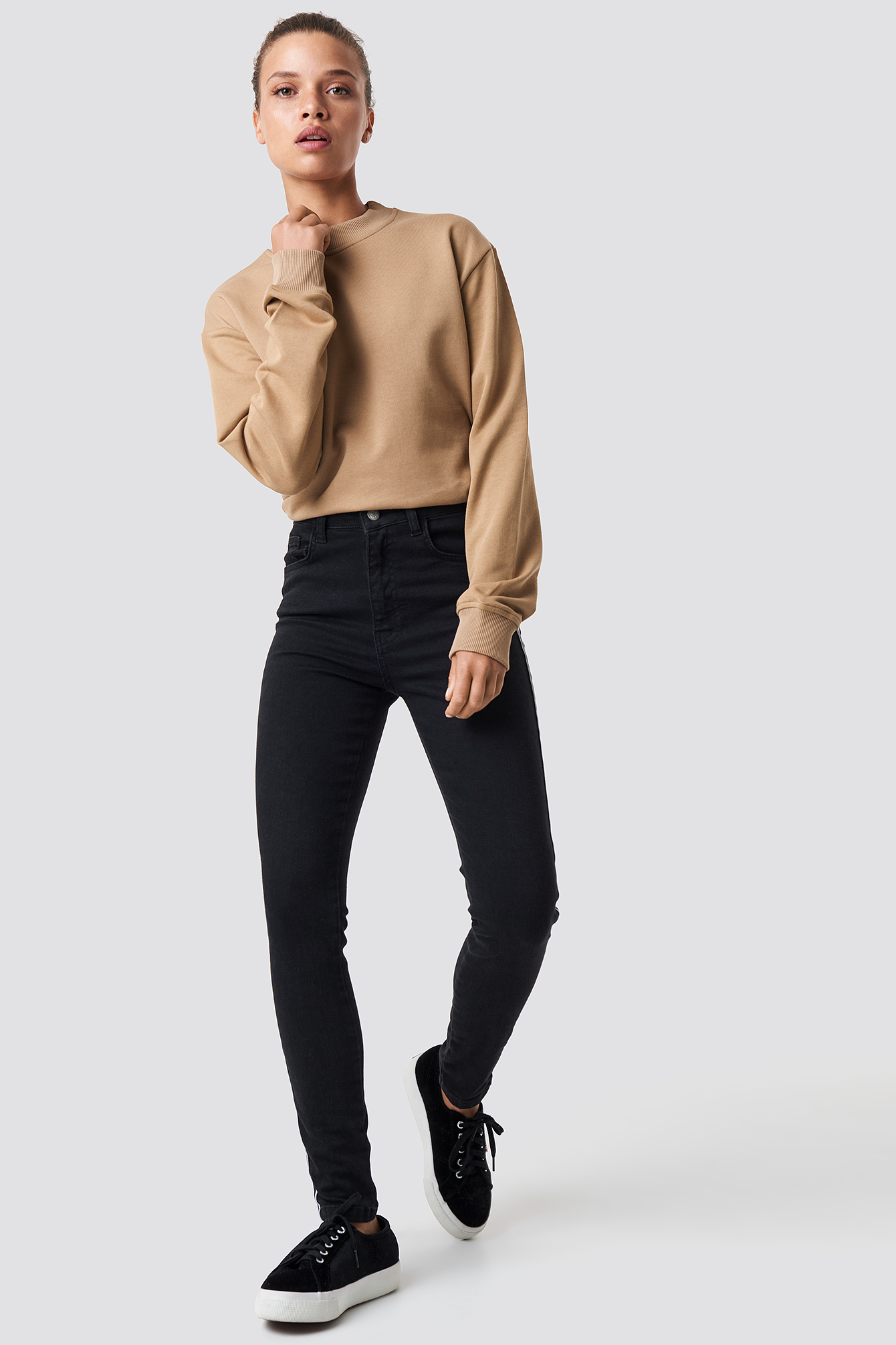 Basic Sweater NA-KD.COM