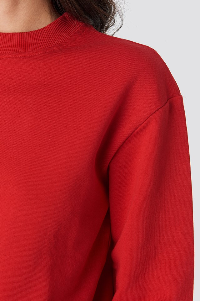 Basic Sweater Red