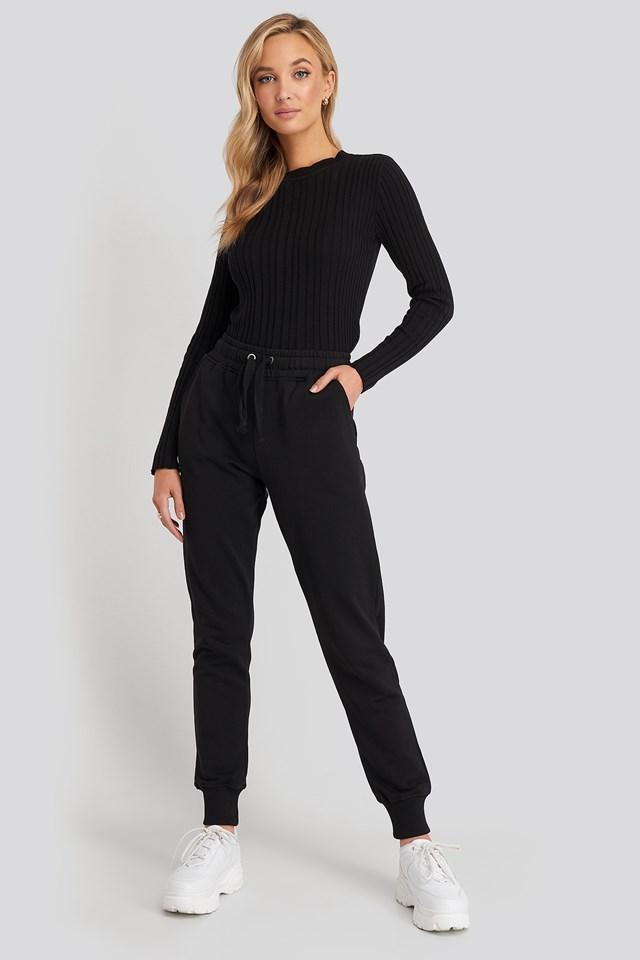 Spodnie dresowe basic NA-KD Basic