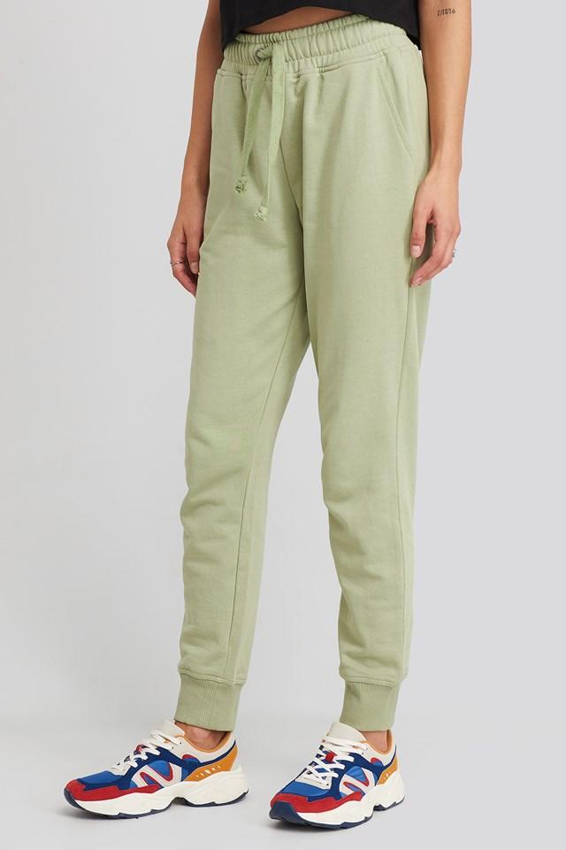 Basic Sweatpants Light Khaki