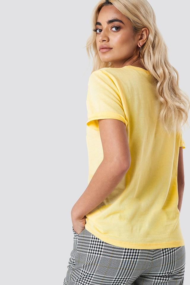 Basic Tee Yellow