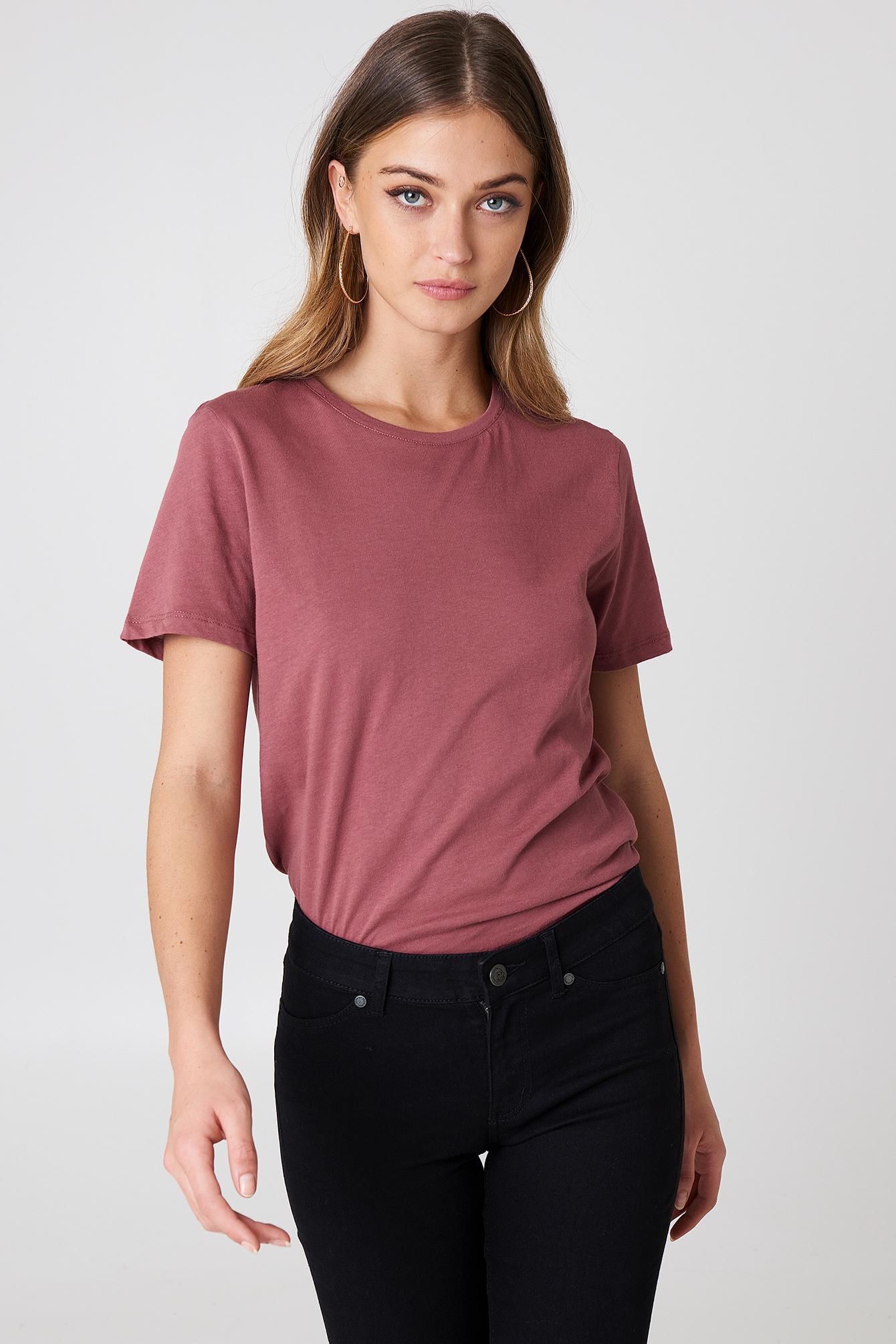 T-shirt basic NA-KD.COM