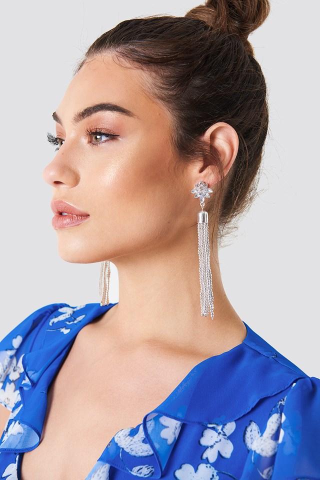 Bead Tassel Earring NA-KD.COM