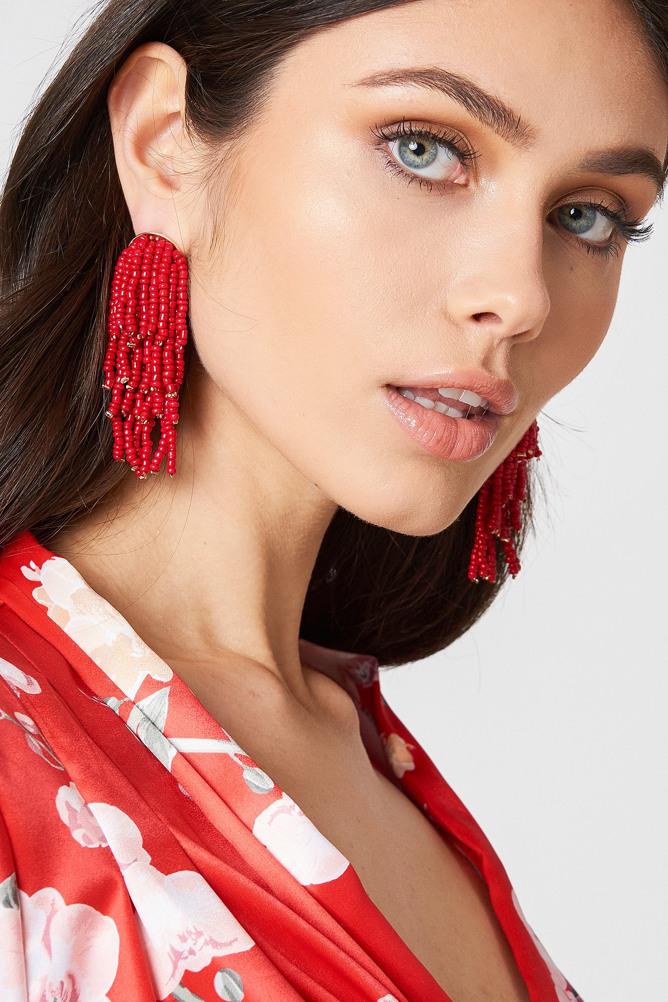 Beaded Tassel Earrings NA-KD.COM