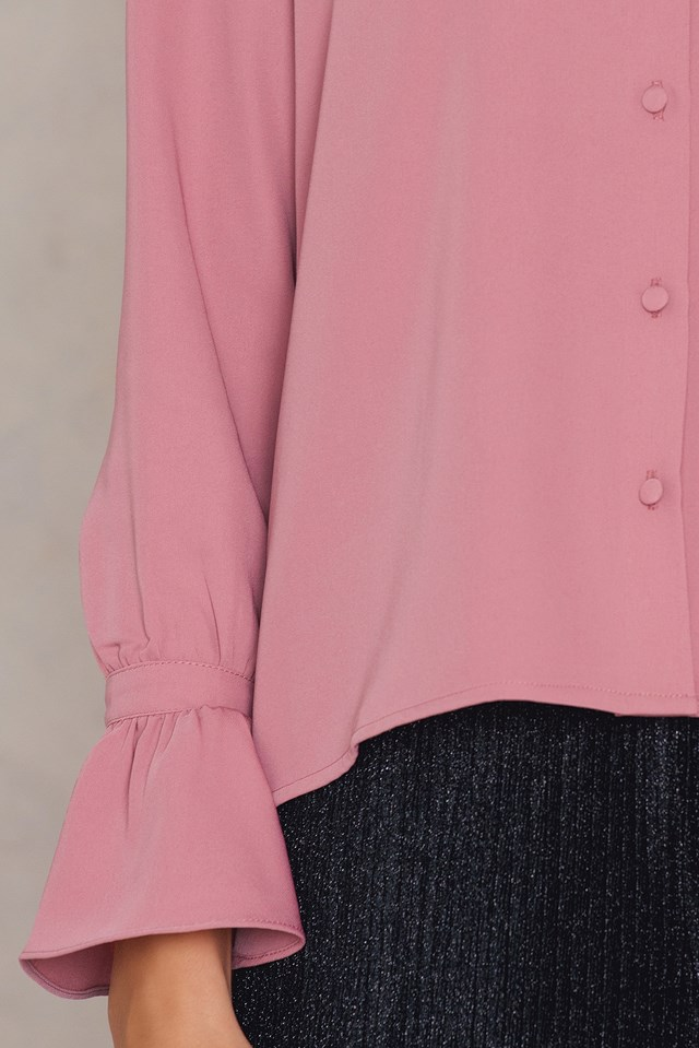 Beatrice Blouse Dusty Pink