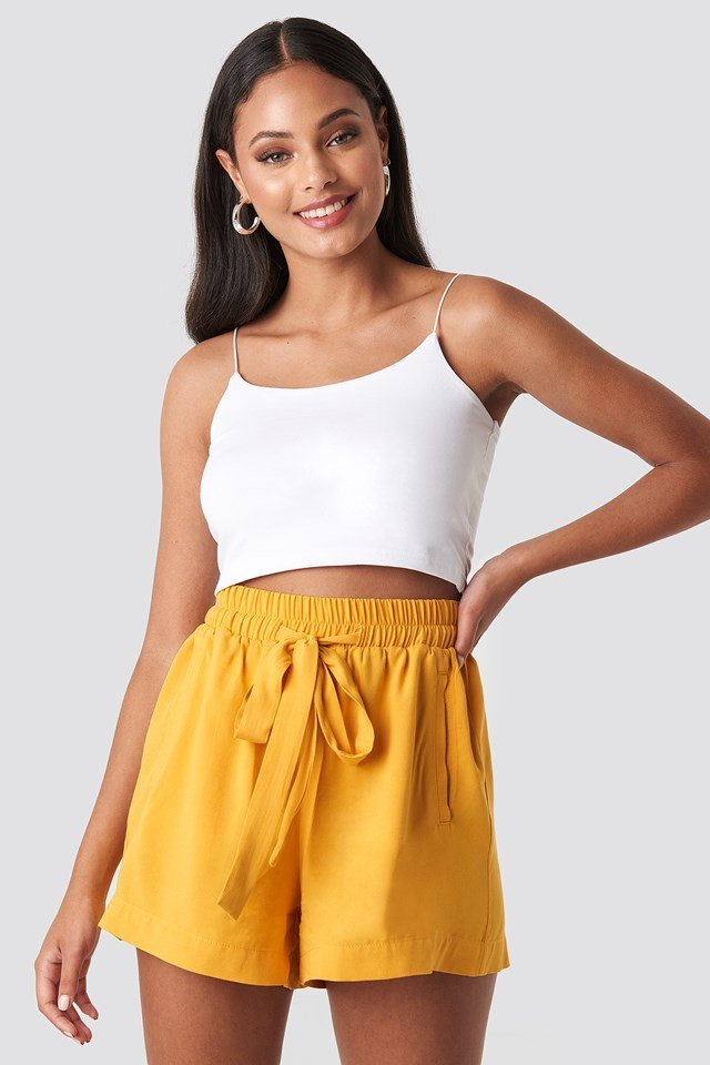 Belted Flowing Shorts NA-KD