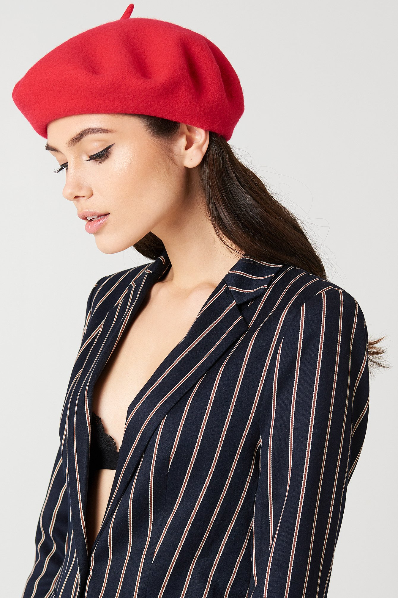 BERET HAT - RED