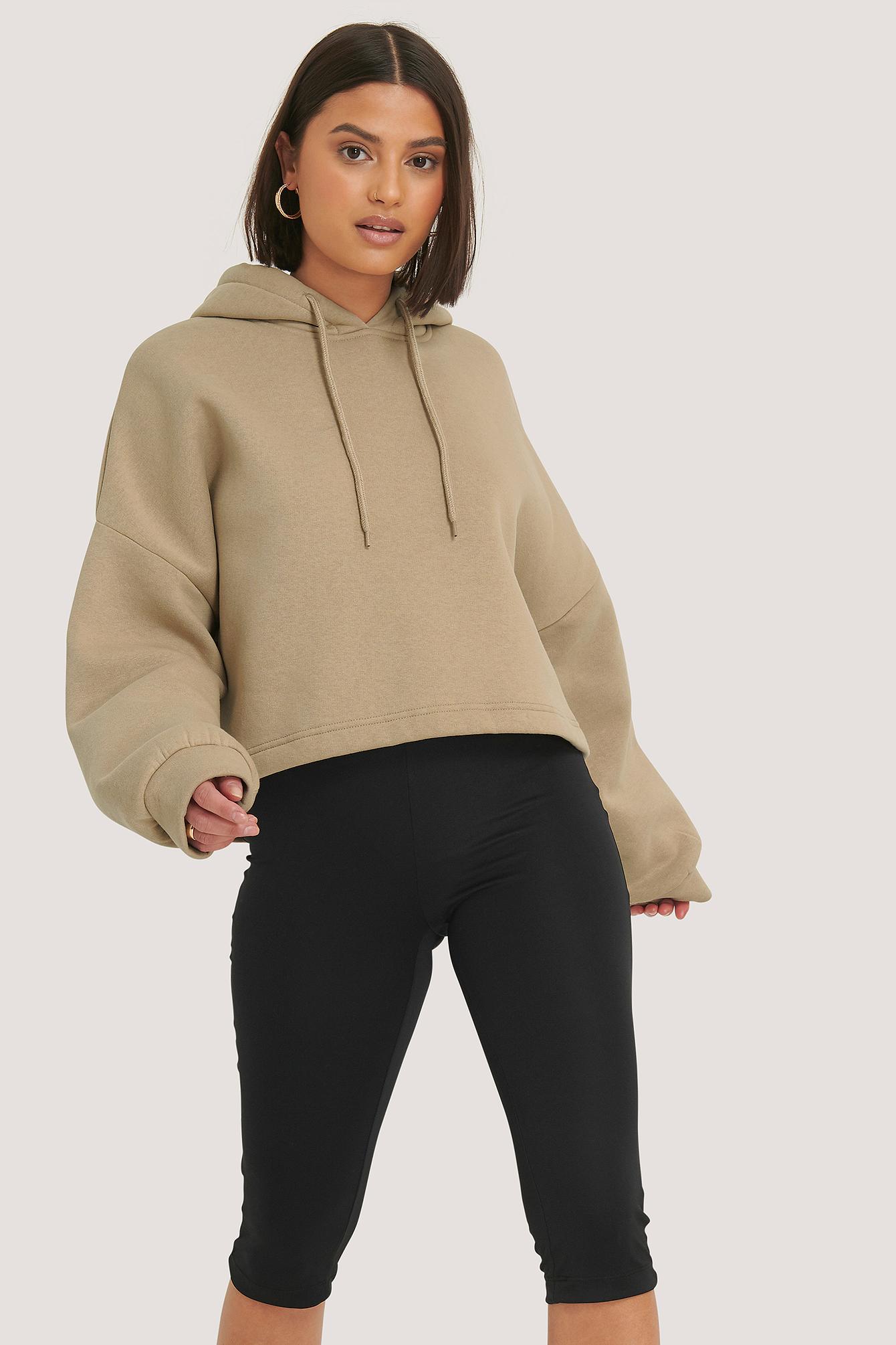 na-kd trend -  Hose Mit Hochgeschnittener Taille - Black