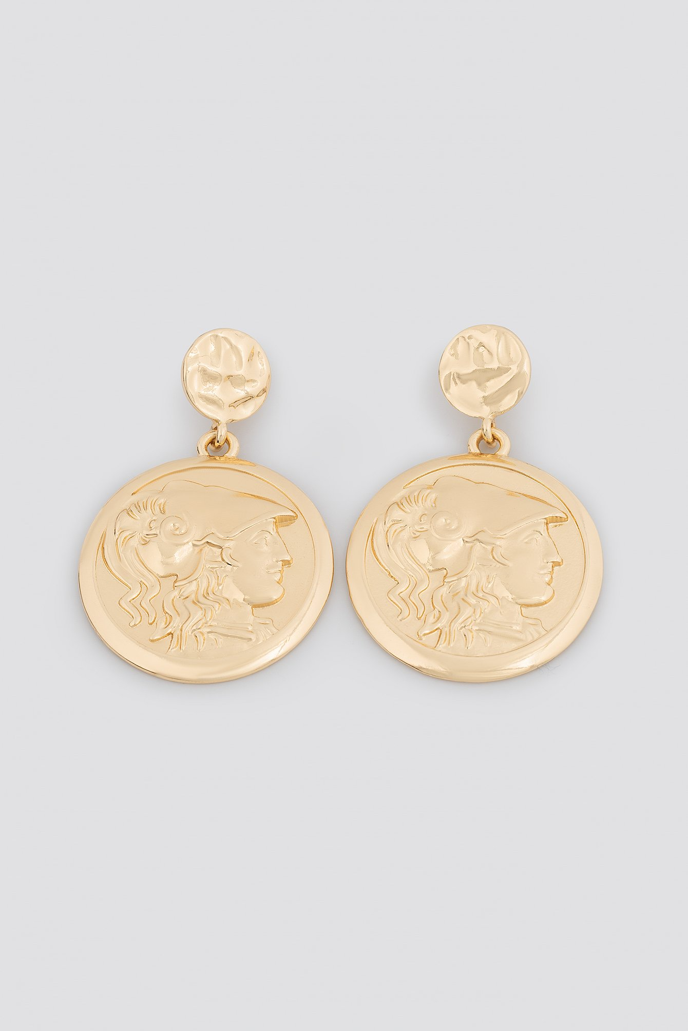 Big Coin Earrings NA-KD.COM