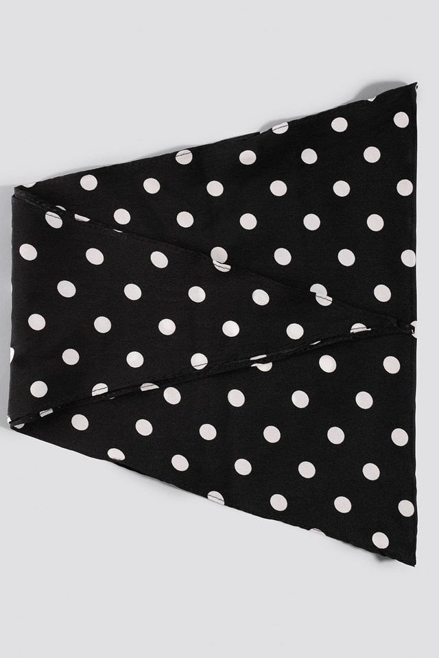 Big Dots Hair Scarf NA-KD.COM