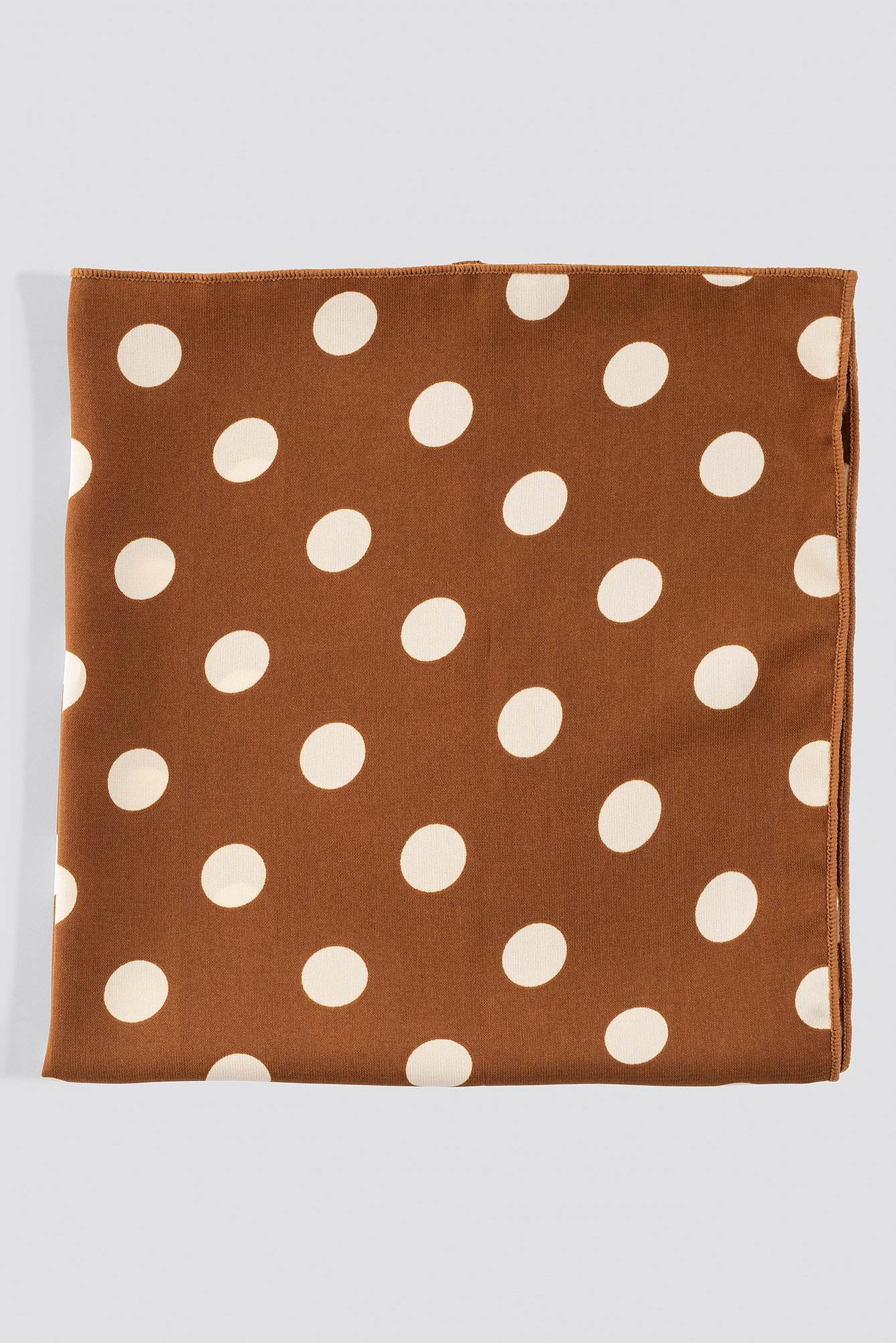 Big Dotted Satin Scarf NA-KD.COM
