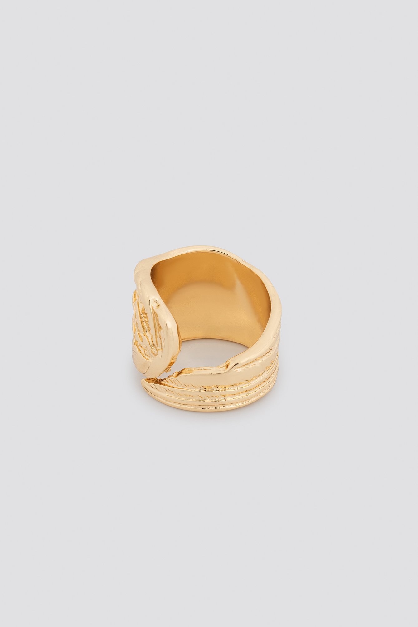 Big Feather Ring NA-KD.COM