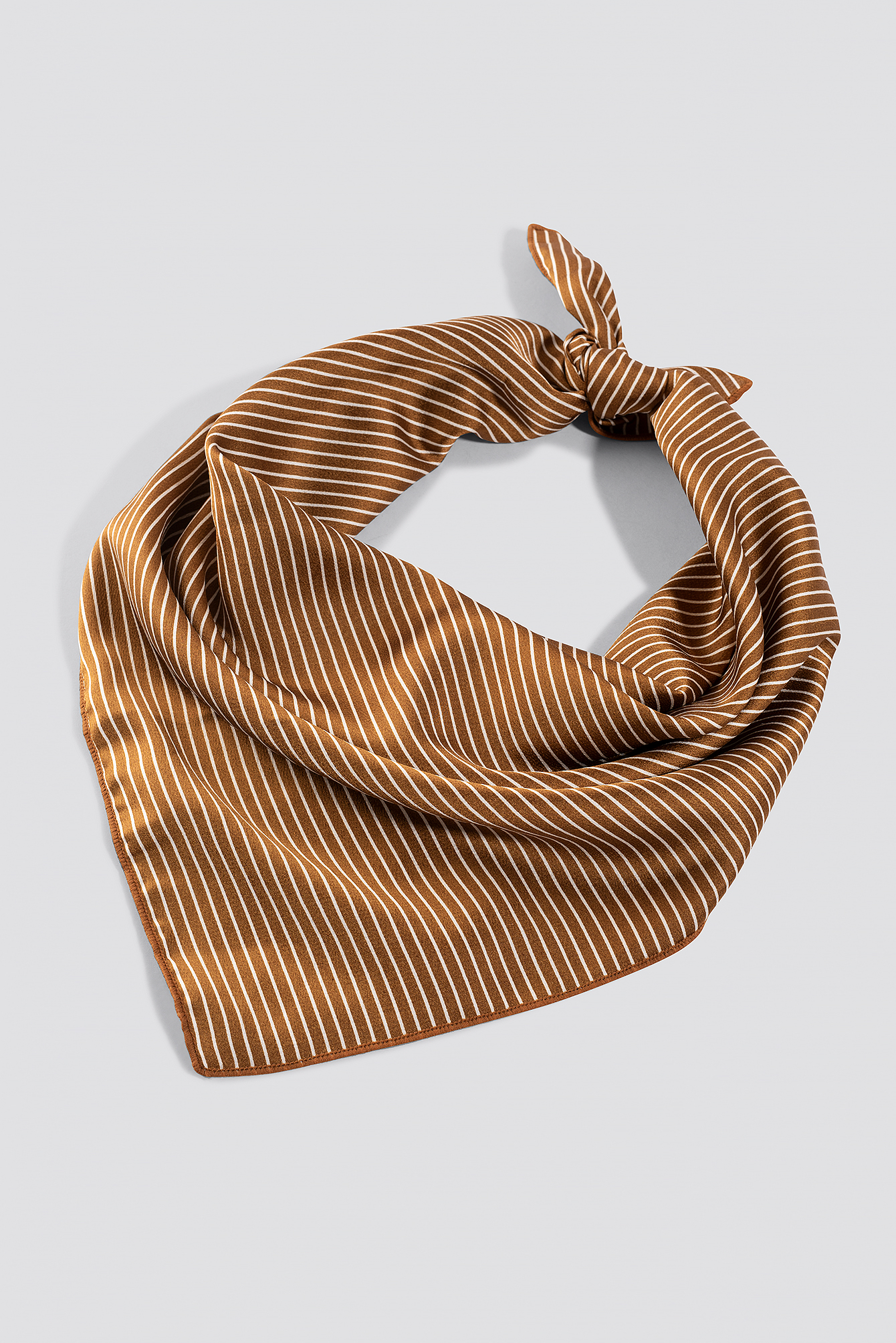 Big Fine Striped Satin Scarf NA-KD.COM