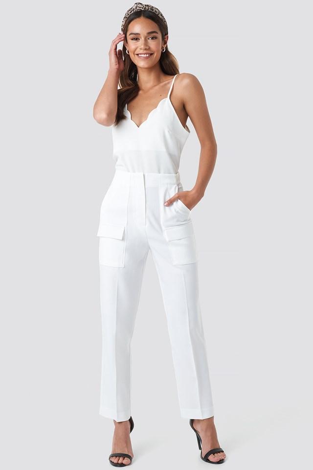Big Front Pocket Pants NA-KD Trend