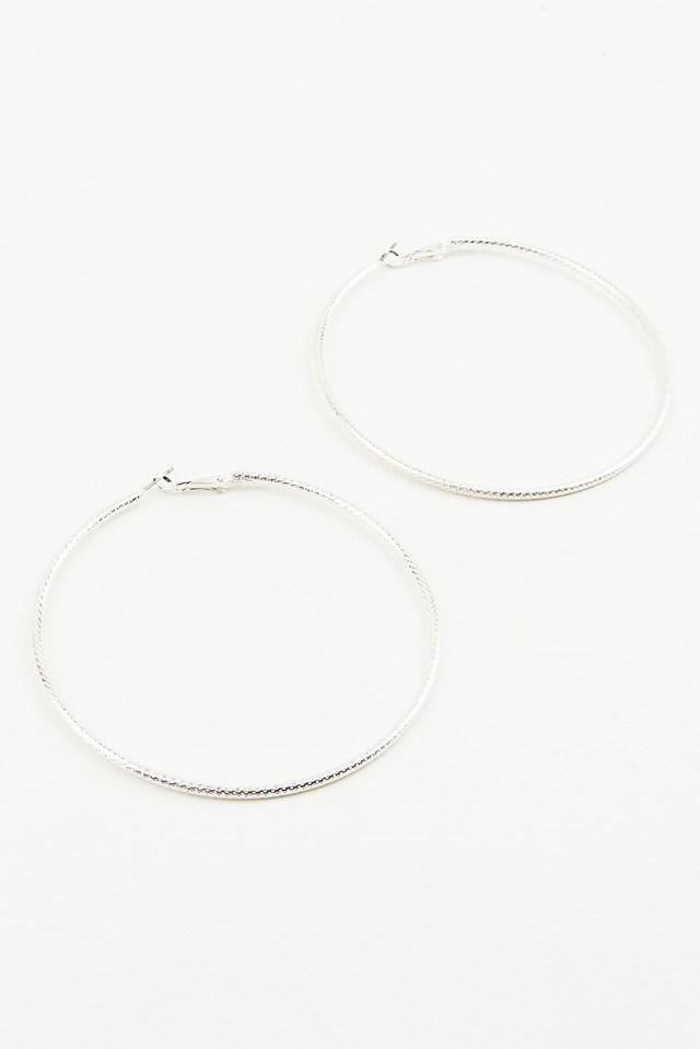 Big Hoop Structured Earrings NA-KD.COM