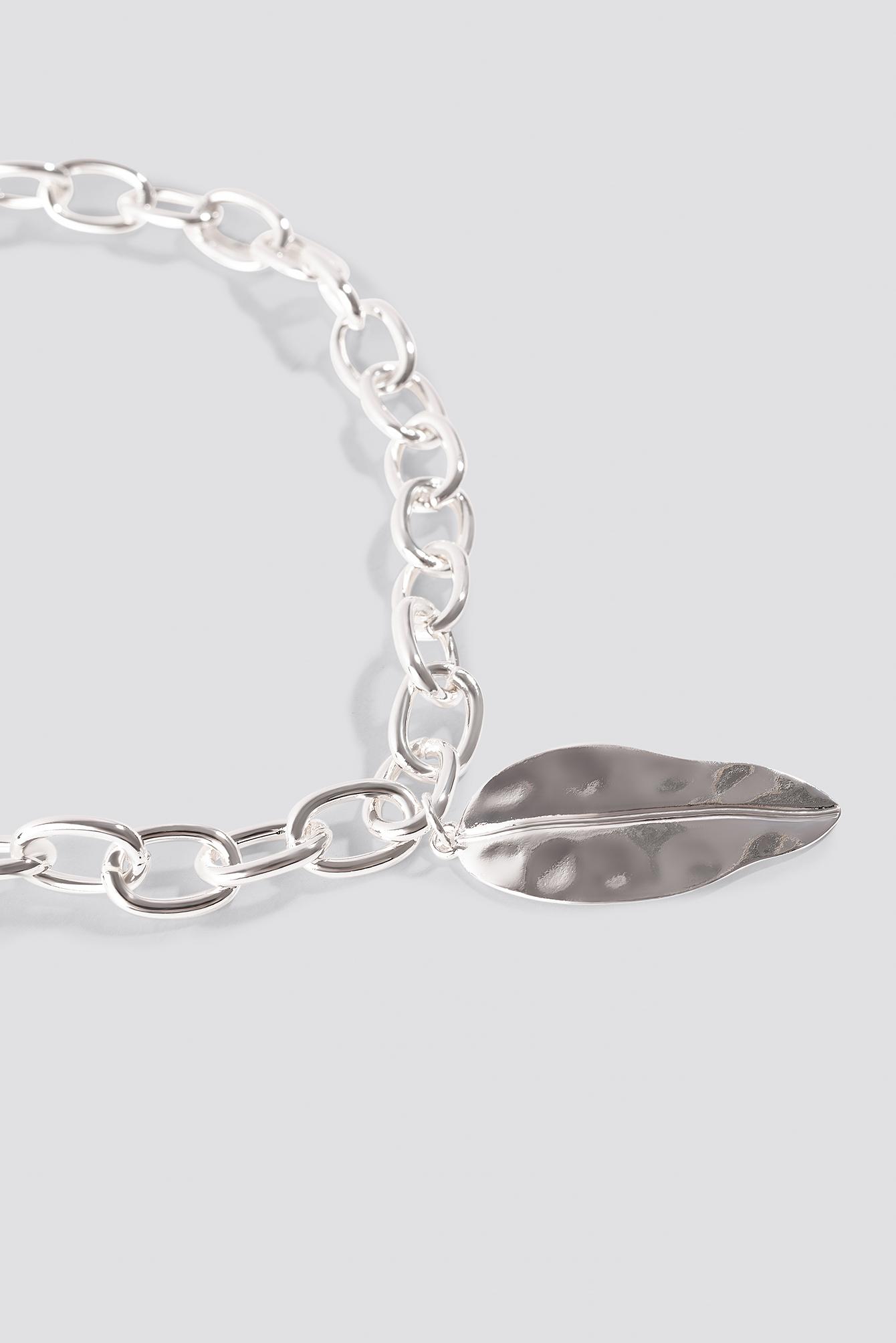 Big Leave Chain Necklace NA-KD.COM