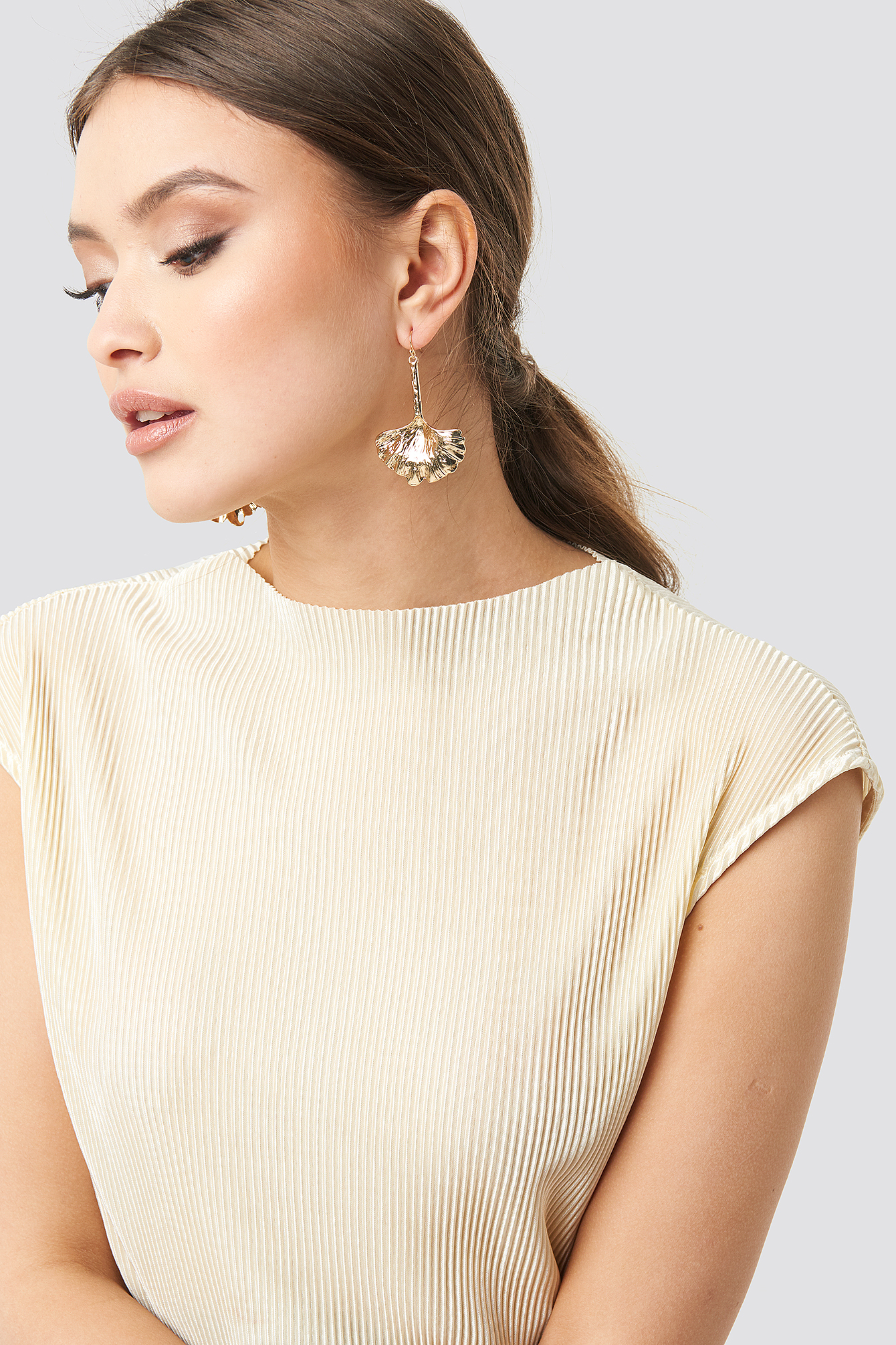 Big Leave Drop Earrings NA-KD.COM