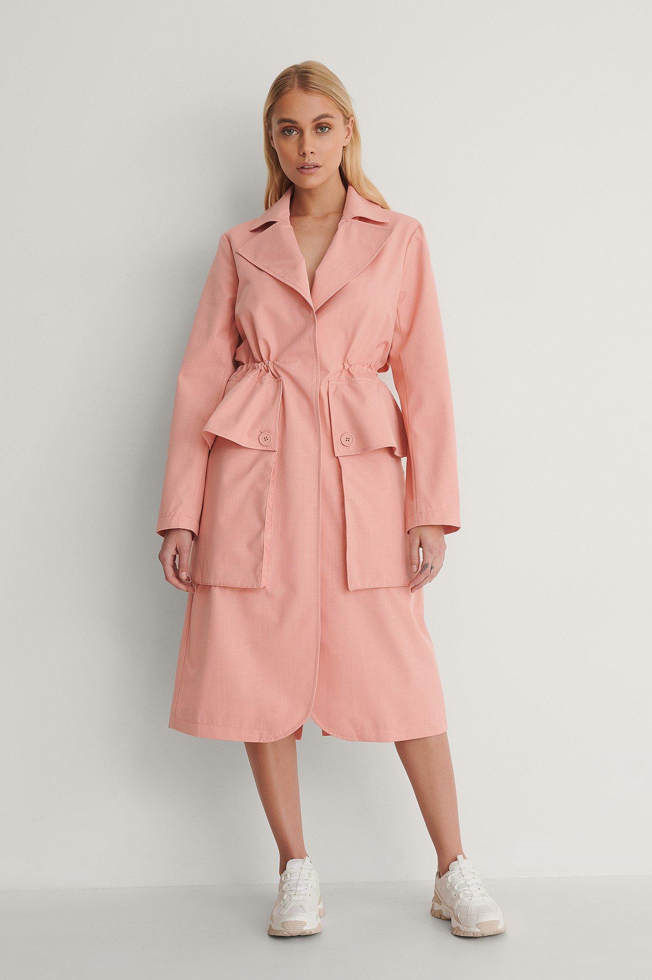 na-kd -  Trenchcoat - Pink