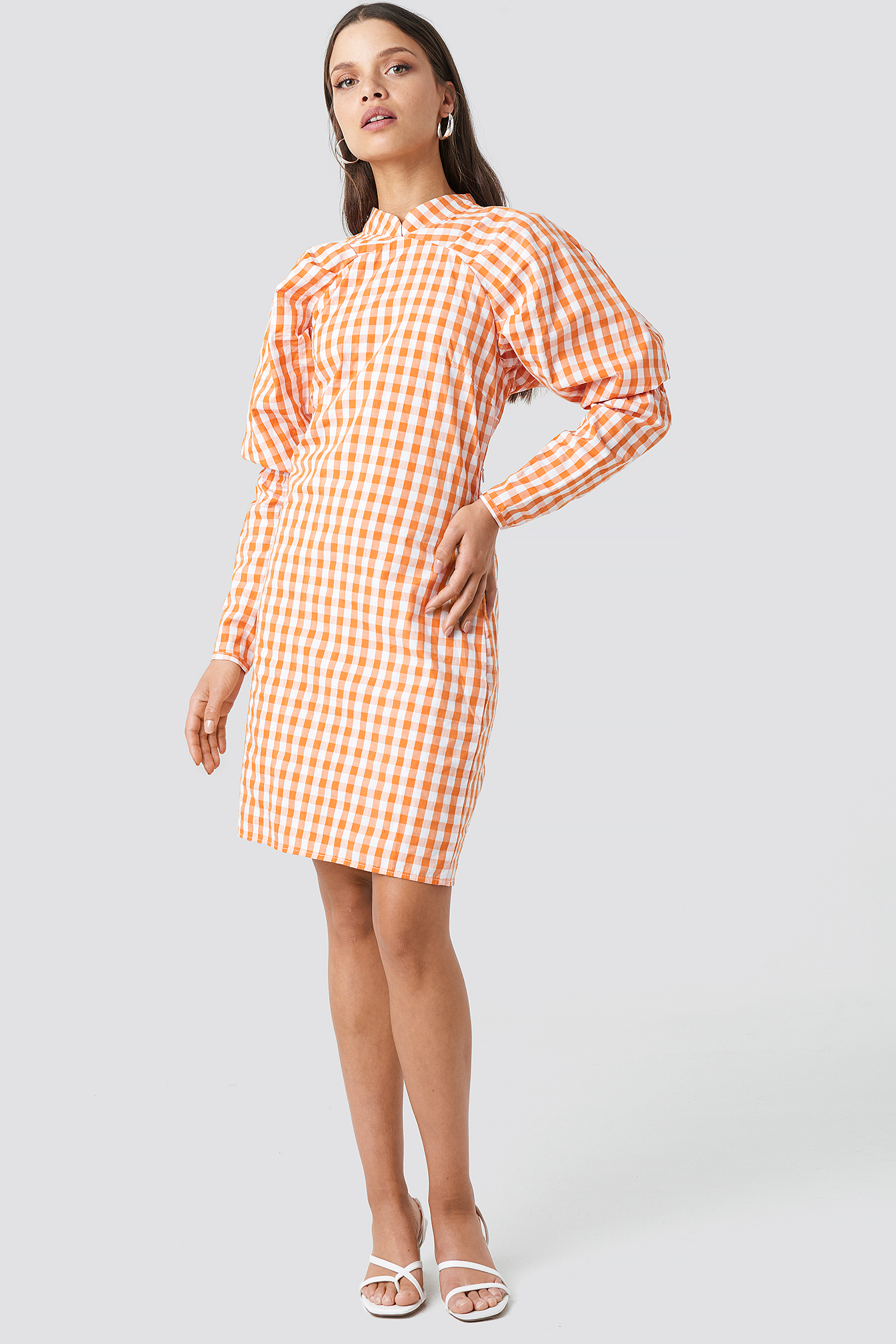 Big Puff Sleeve Dress NA-KD.COM