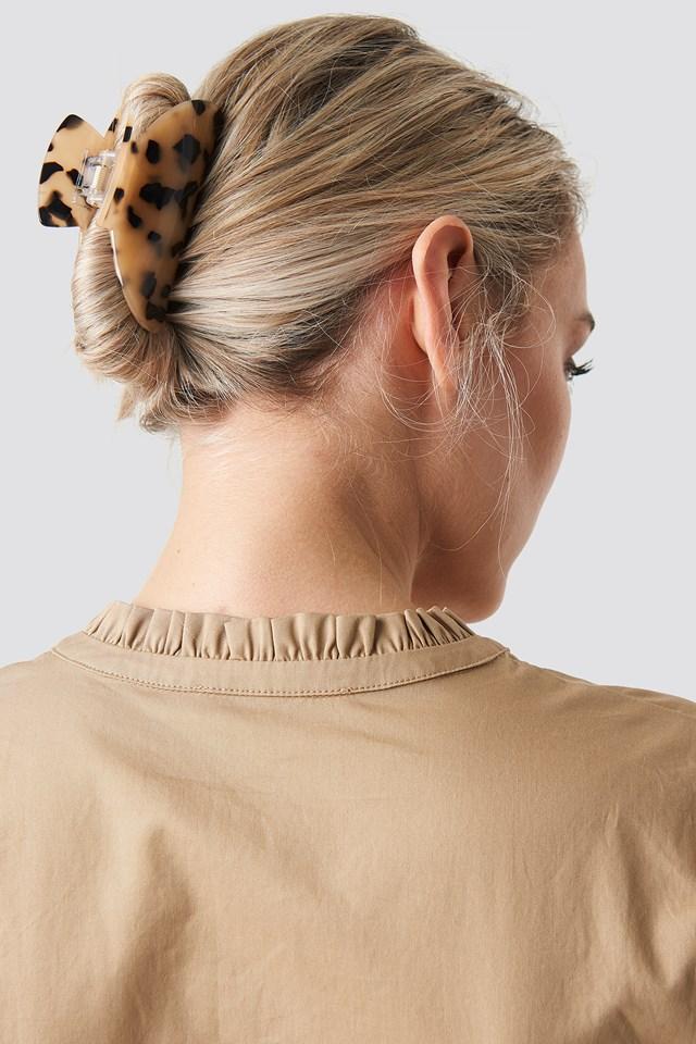 Big Resin Look Hairclip NA-KD.COM