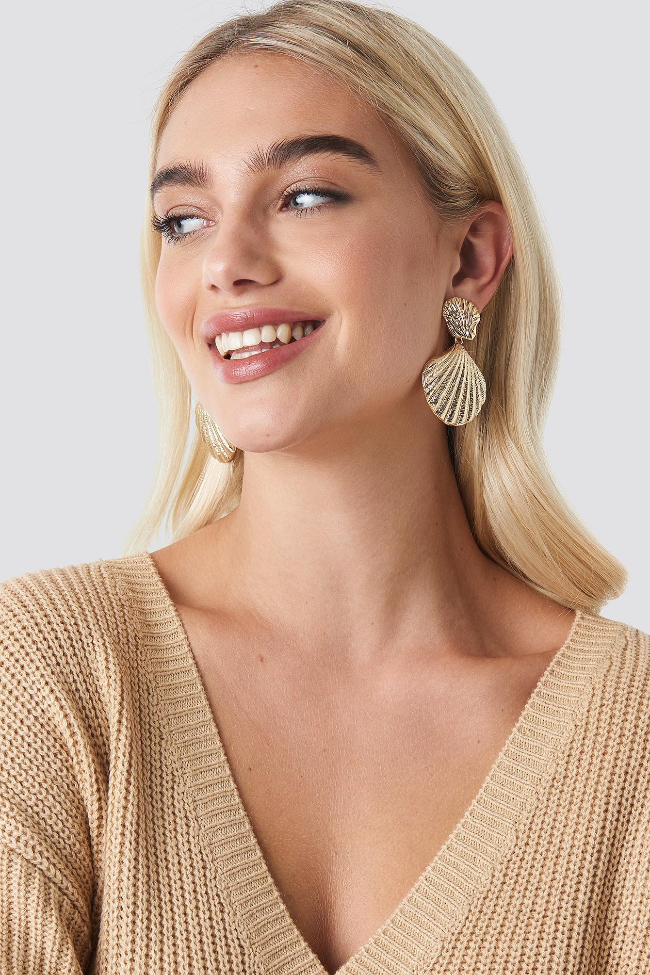 Big Shell Earrings NA-KD.COM