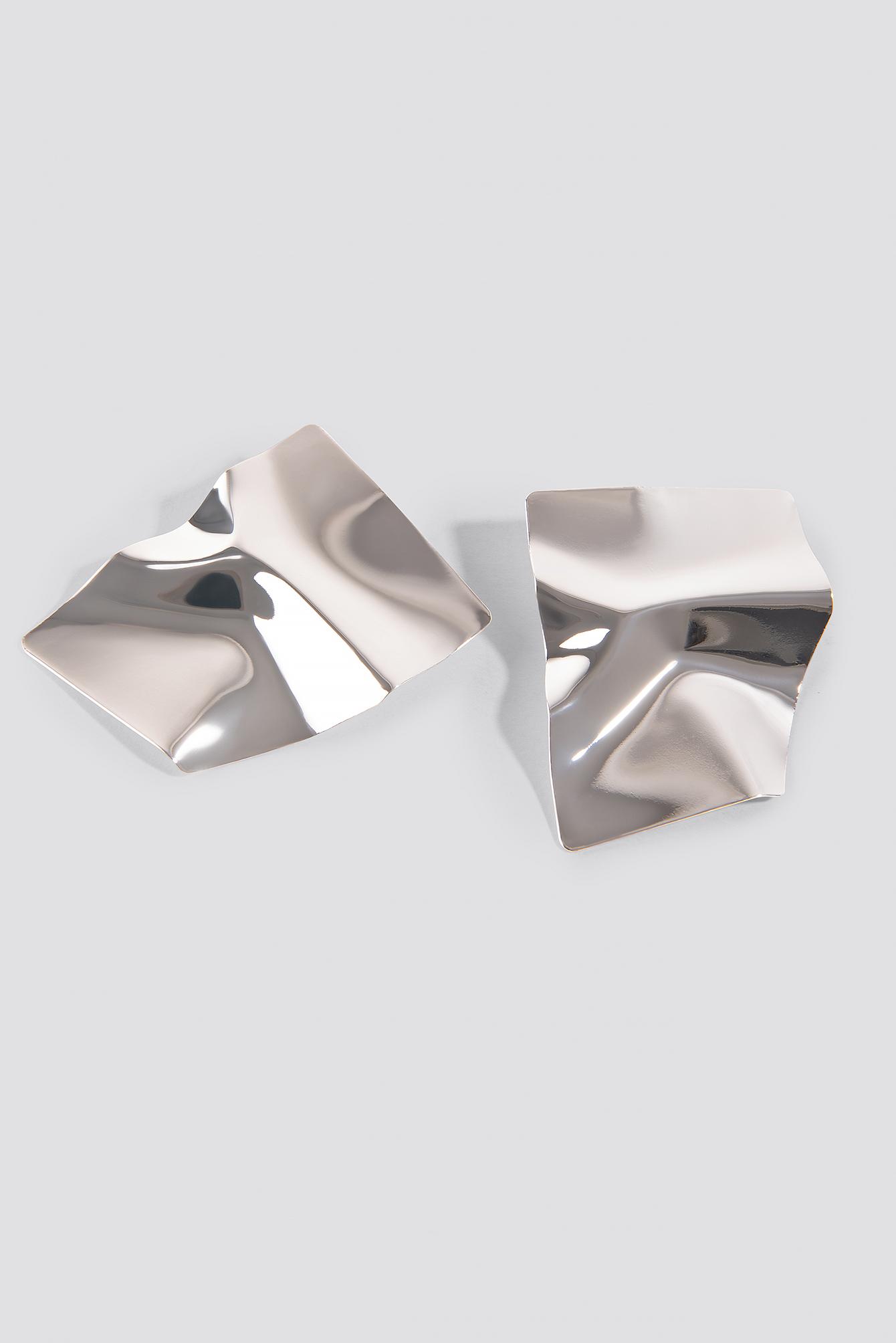 Big Shield Earrings NA-KD.COM