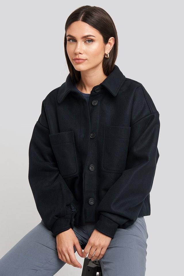 Big Sleeve Oversized Jacket NA-KD