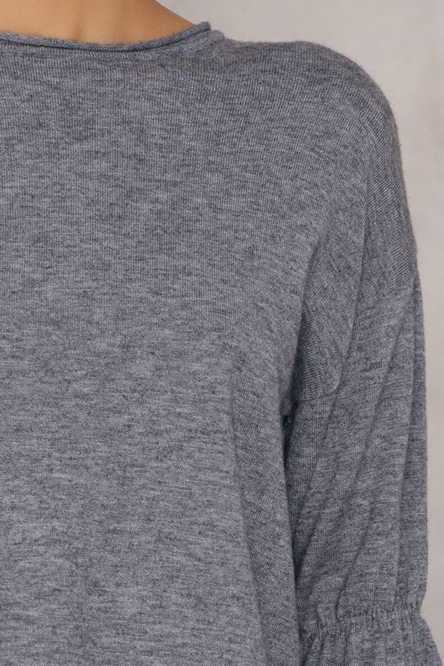 Big Sleeve Sweater Grey
