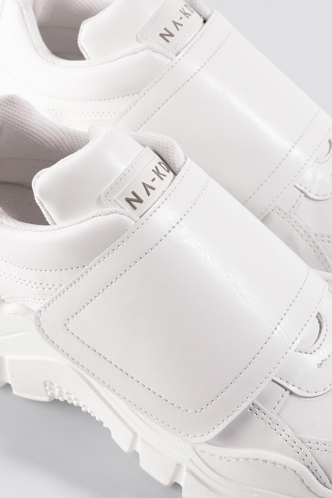 Big Velcro Chunky Trainers NA-KD.COM