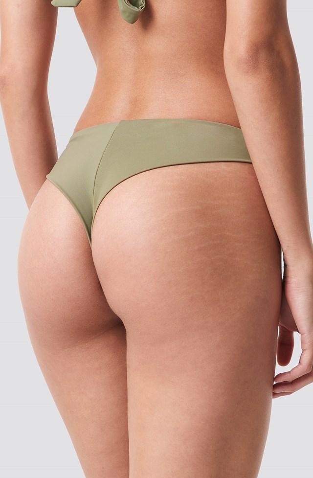 Bikini Bottom Khaki Green