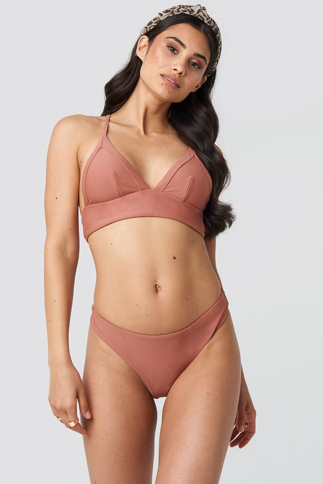 Bikini Bottom Dusty Rose