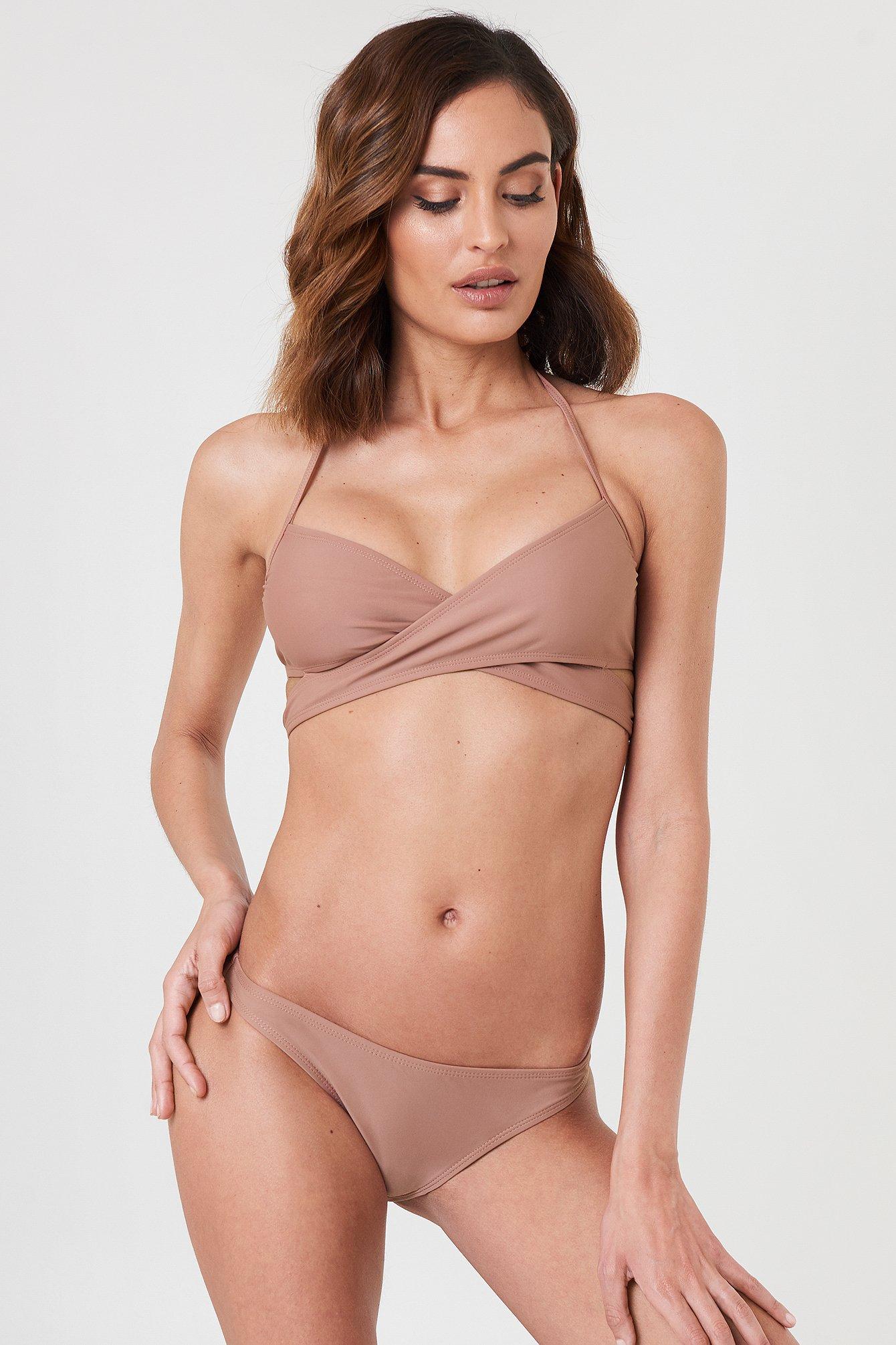 NA-KD Swimwear Bikini Panty - Pink | Unterwäsche & Reizwäsche > Panties | NA-KD Swimwear