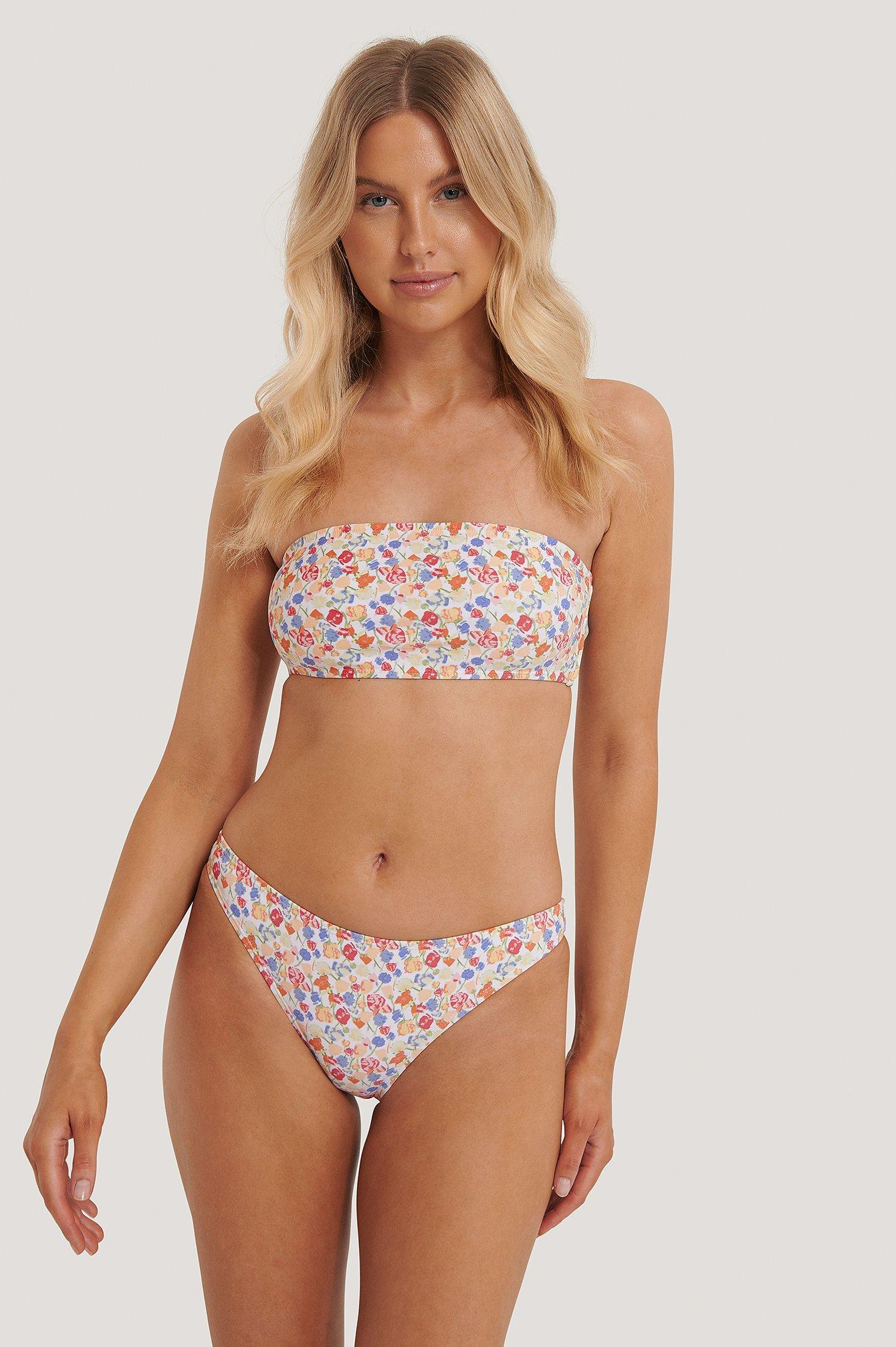 NA-KD Swimwear Bikini Panty - Multicolor