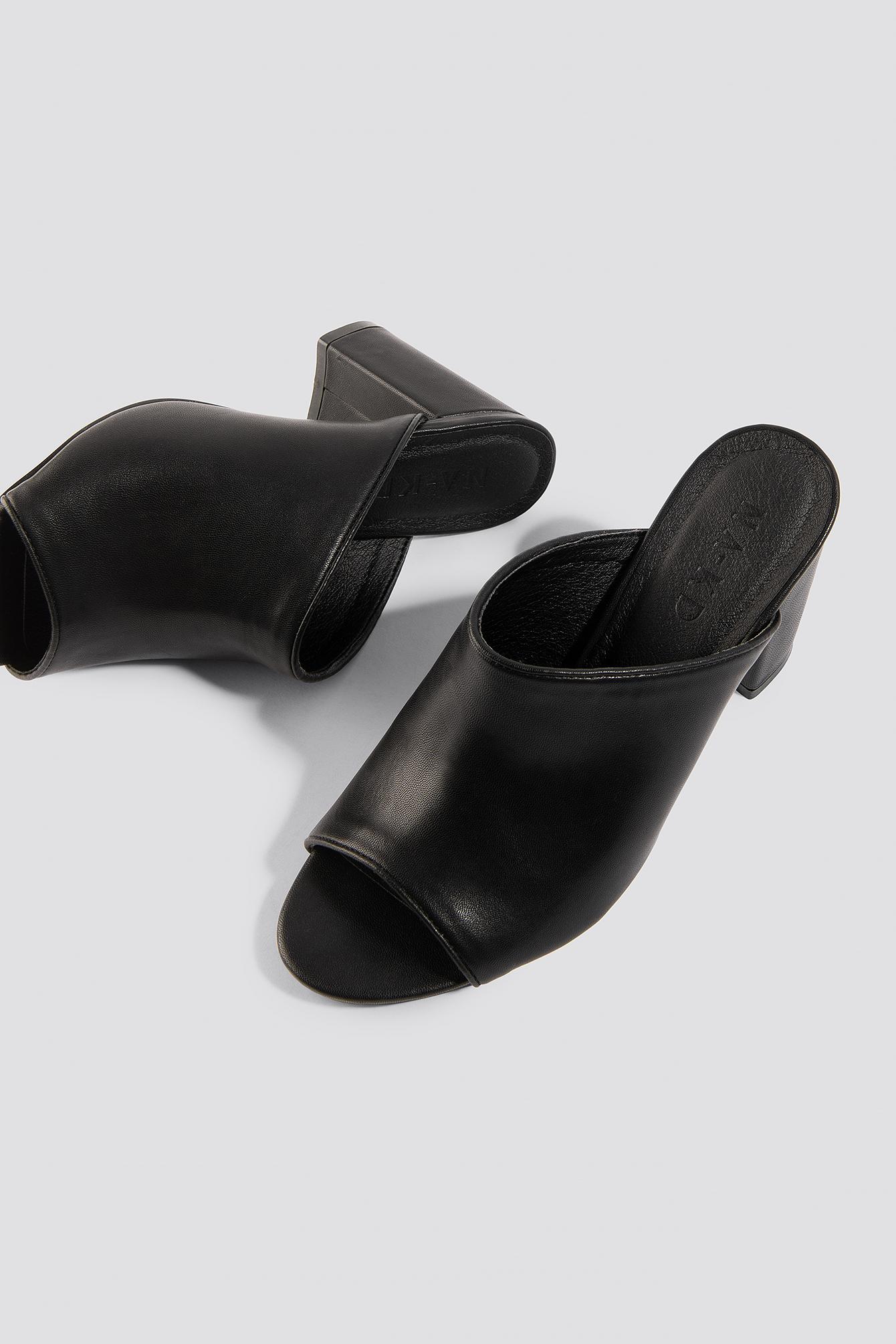 Block Heel Mules NA-KD.COM